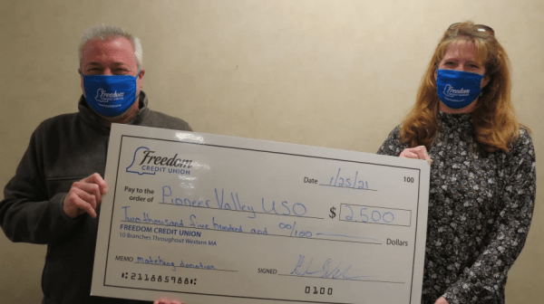 Funds raised to support Pioneer Valley USO